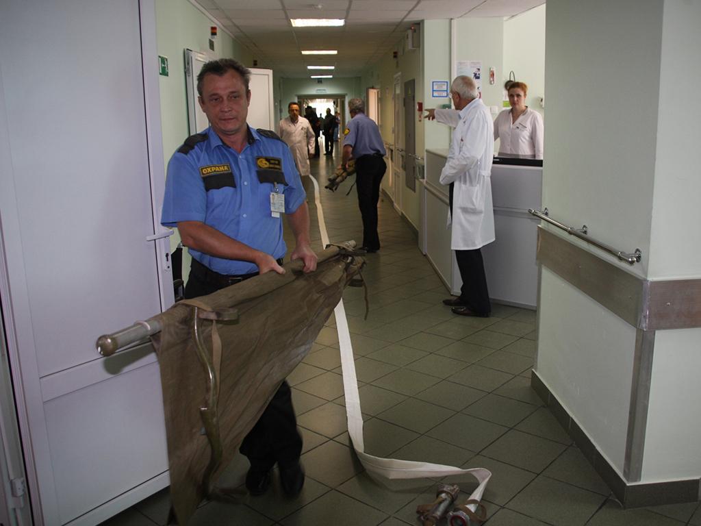 Охрана больниц Курск